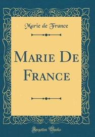 Marie de France (Classic Reprint) by Marie De France image