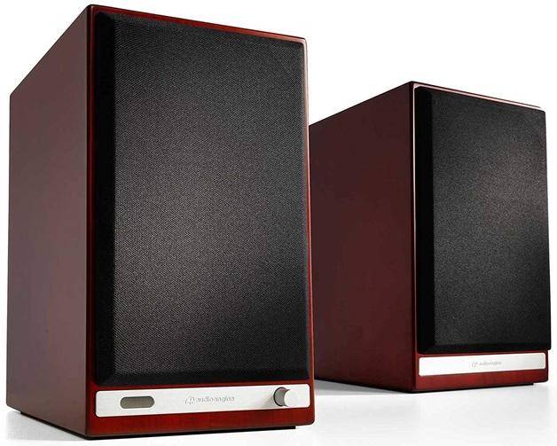 Audioengine: HD6 Powered Speakers (Pair) - Cherry