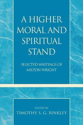 A Higher Moral and Spiritual Stand image