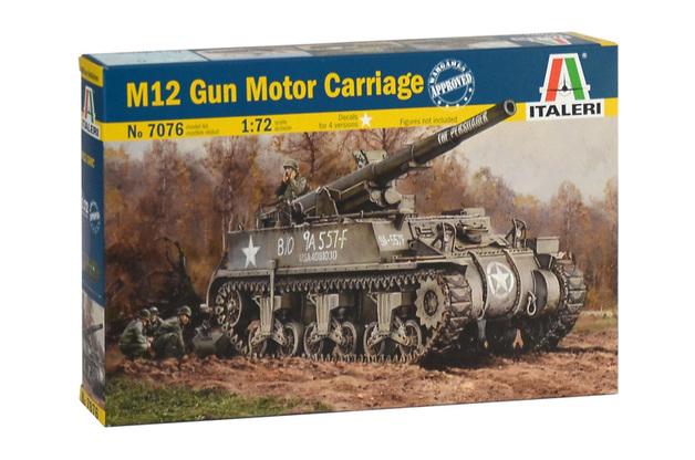 Italeri 1/72 GMC M-12 - Model Kit