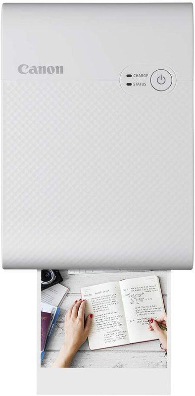 Canon Selphy Square QX10 Photo Printer - White