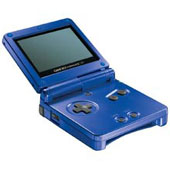 Game Boy Advance SP - Cobalt Blue for Game Boy Advance
