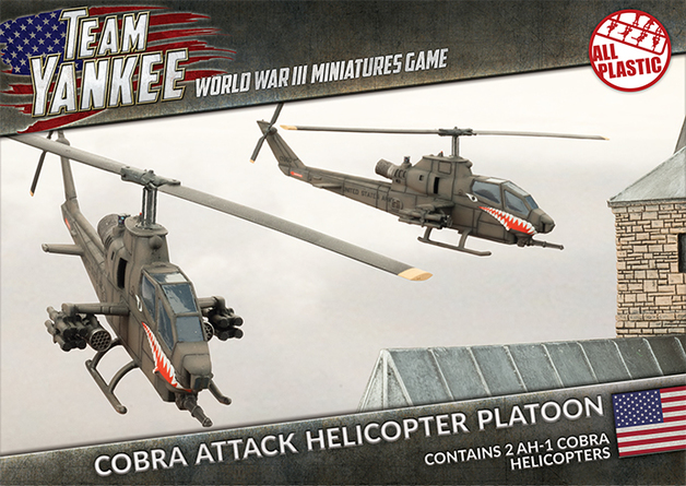Flames of War: Cobra Attack Helicopter Platoon