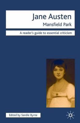 Jane Austen-Mansfield Park by Sandie Byrne image