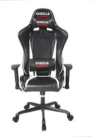 Gorilla Gaming Commander Chair - White & Black for