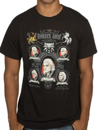 The Witcher 3 Shave and a Haircut Tee (Large)