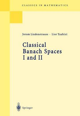 Classical Banach Spaces I and II by Joram Lindenstrauss image