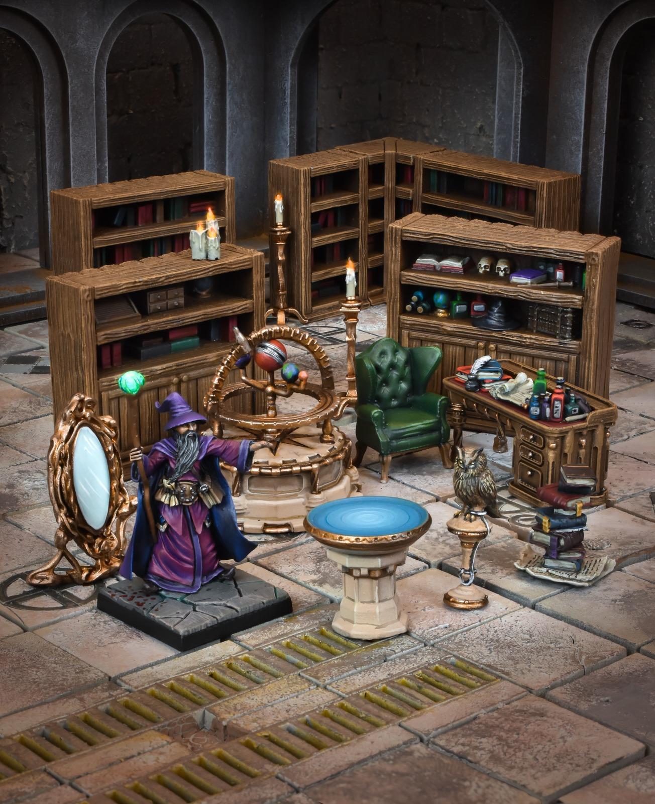 TerrainCrate: Wizard's Study image