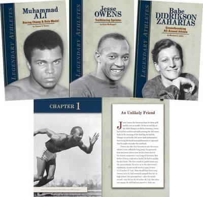 Legendary Athletes by Jennifer Joline Anderson