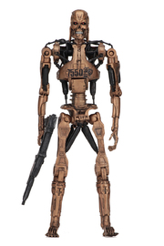 "Terminator: Metal Mash Endoskeleton - 7"" Kenner Tribute Action Figure"