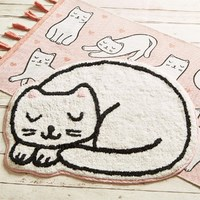 Cutie Cat Nap Time Rug