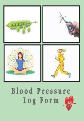 Blood Pressure Log Form by Medin Call