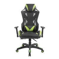 Brateck Lumi Breathable Mesh Back Reclining Gaming Chair With Lumbar Support