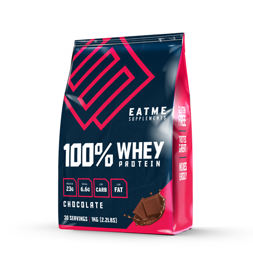 Eat Me Premium Whey Protein - Chocolate (1kg) image