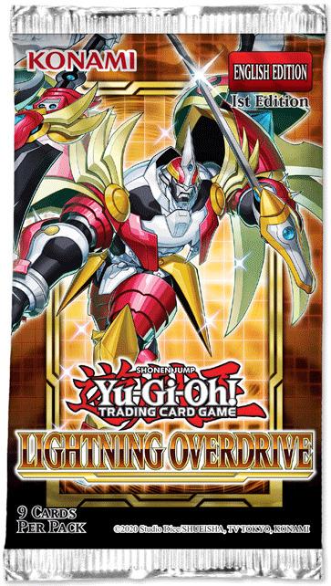Yu-Gi-Oh! Lightning Overdrive Single Booster