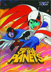 Battle Of The Planets - Vol 4 on DVD