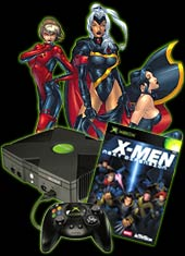 Xbox Console + X-Men: Next Dimension for Xbox