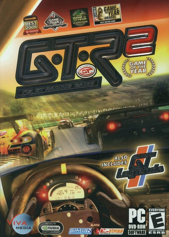 GTR 2: Game of The Year (includes GT Legends) for PC