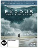 Exodus: Gods & Kings on Blu-ray, 3D Blu-ray