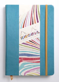 Rhodiarama A5 Webnotebook Lined (Turquoise Blue)