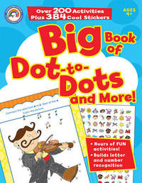 Big Book of Dot-To-Dots and More! image