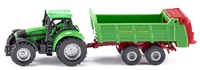 Siku: Tractor with Universal Manure Spreader