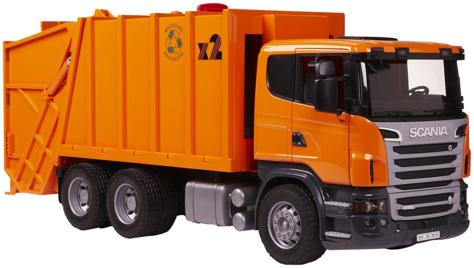 Bruder Scania R Series Garbage Truck Toy At Mighty Ape Nz