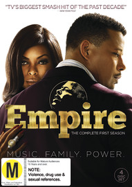 Empire Season 1 on DVD