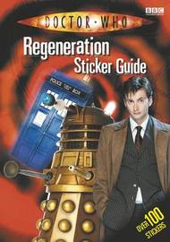 """Doctor Who"" Regeneration Sticker Guide by Jacqueline Rayner image"