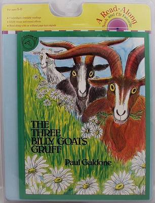 The Three Billy Goats Gruff by Paul Galdone image