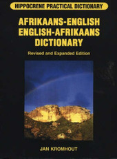Afrikaans-English/English-Afrikaans by Jan Kromhout