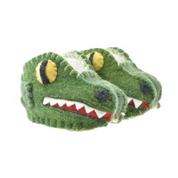 Woolie Merino Slippers - Alligator
