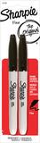 Sharpie Fine Marker (Black 2pk)