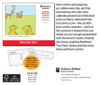 Gocomics Presents Comics Every Day 2019 Day-to-Day Calendar by Andrews McMeel Syndication image