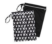 Mum 2 Mum: Wet Bag - Cross / Black (2 Pack) image