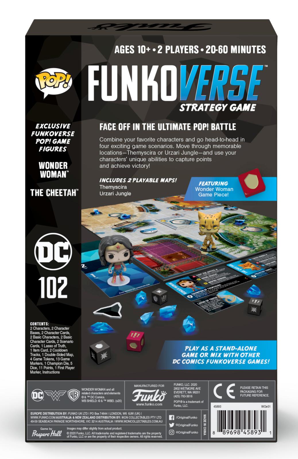 Funkoverse: DC Comics #2 - Board Game (2-Pk) image