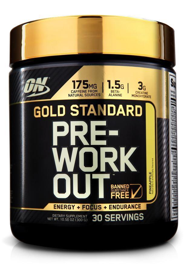 Optimum Nutrition Gold Standard Pre-Workout - Pineapple (300g) image