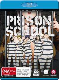 Prison School: Complete Series on Blu-ray