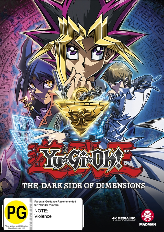 Yu-gi-oh: The Dark Side Of Dimensions on DVD
