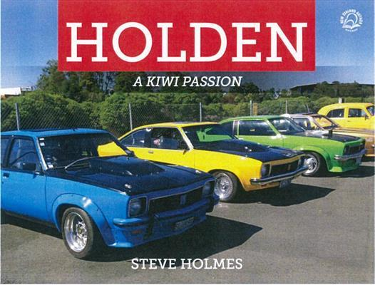 Holden A Kiwi Passion by Steve Holmes image