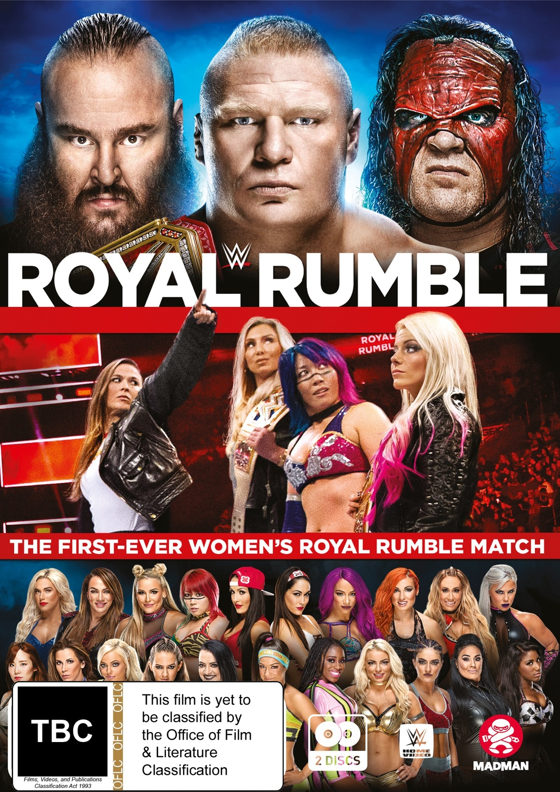 WWE: Royal Rumble 2018 on DVD image
