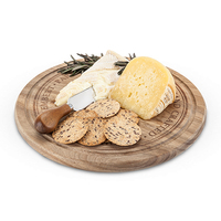 Twine: Rustic Farmhouse - Rounded Cheese Board & Knife Set