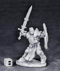 Dark Heaven: Bones Crusader Champion (Attacking)