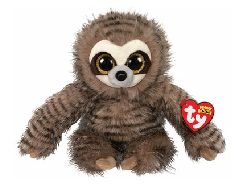 Ty Beanie Boo: Sully Sloth - Small Plush
