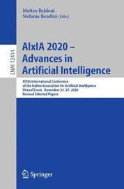 AIxIA 2020 - Advances in Artificial Intelligence