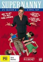 Supernanny (US) - Season 2 (3 Disc Box Set) on DVD