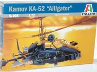 "Italeri Kamov KA-52 ""Alligator"" 1:72 Model Kit"