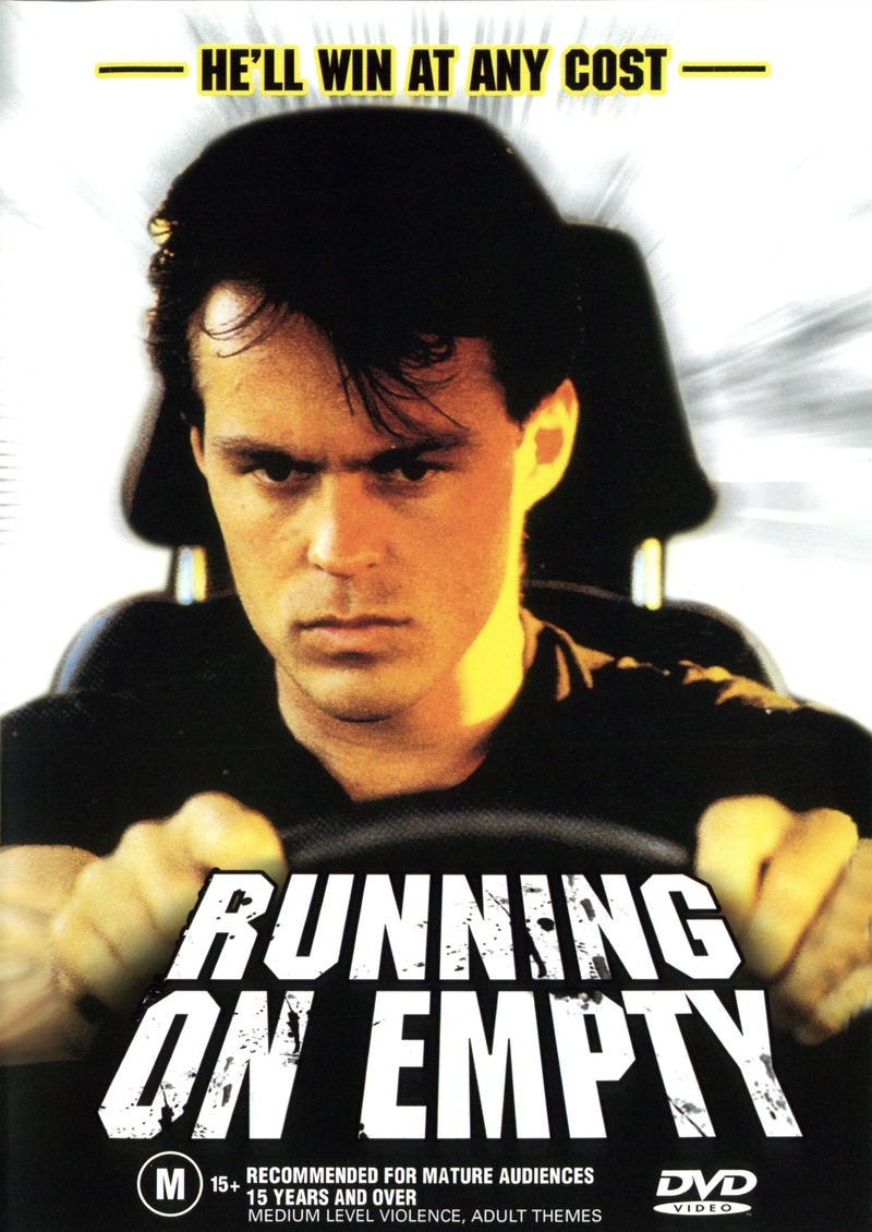 Running on Empty on DVD image