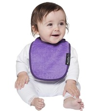 Mum 2 Mum Infant Wonder Bib - Purple