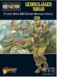 German Gebirgsjager Squad